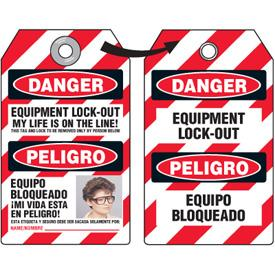 Emedco EZ Photo ID Lockout Tags